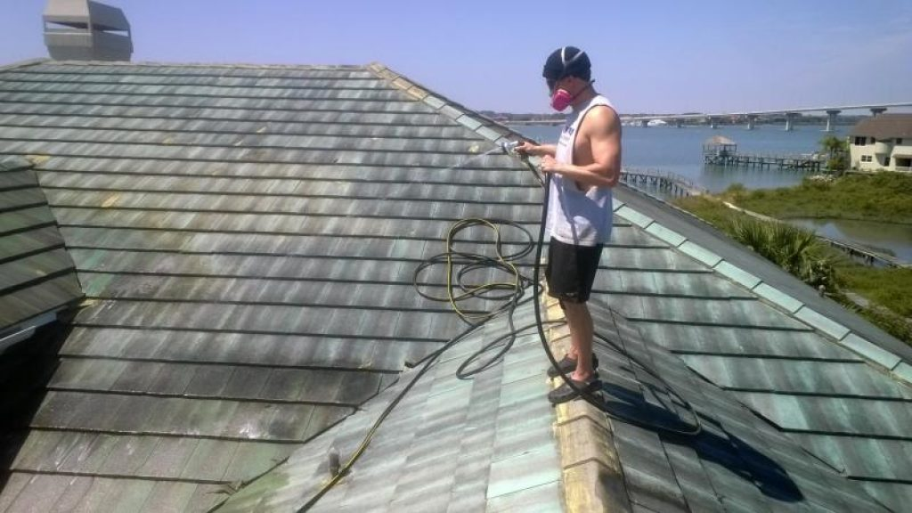 cleaning of Roofing