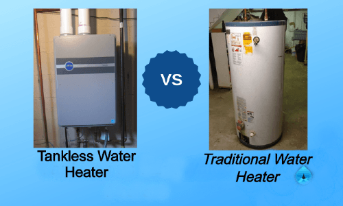 electric tankless water heater cost