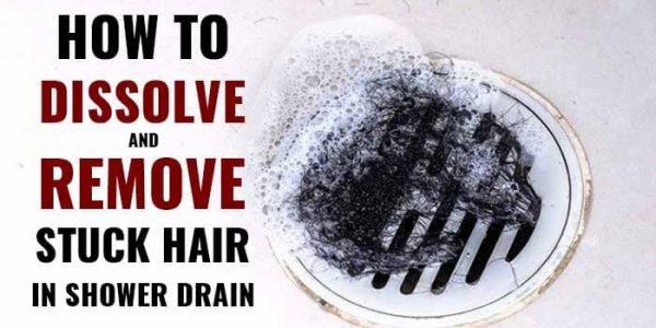 To Dissolve Hair In A Shower Drain