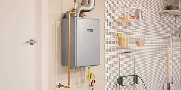tankless water heater hot then cold
