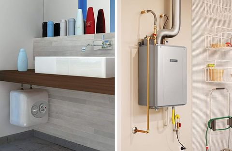 Tankless Water Heater Gas VS Electric