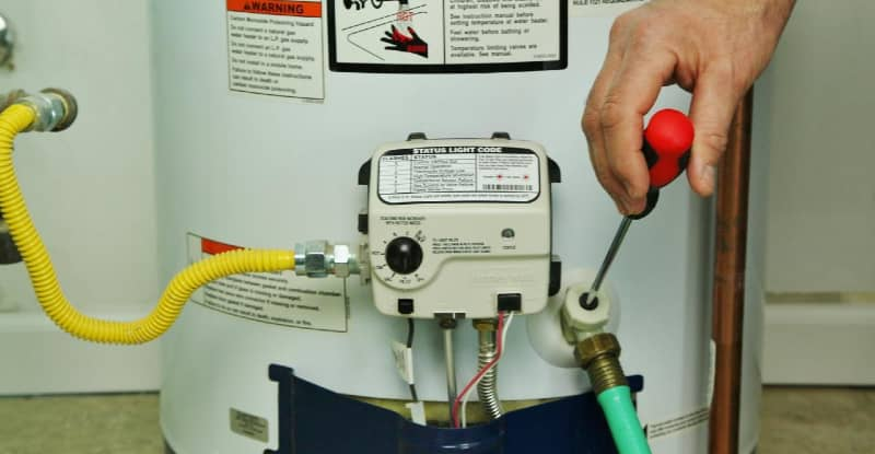 water heater pilot light keeps going out