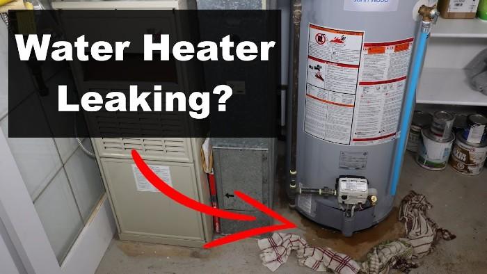 is a leaking water heater dangerous