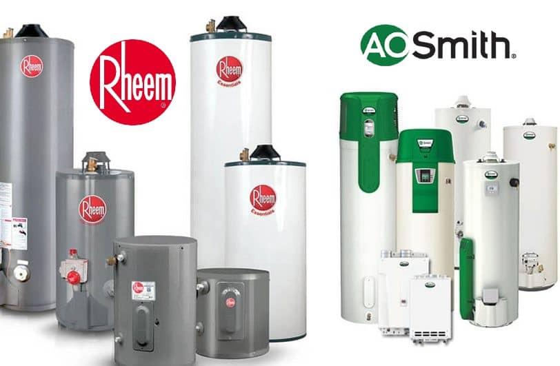 rheem vs ao smith water heater