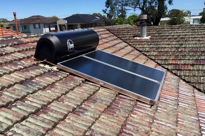 Rheem Hot Water Heater System
