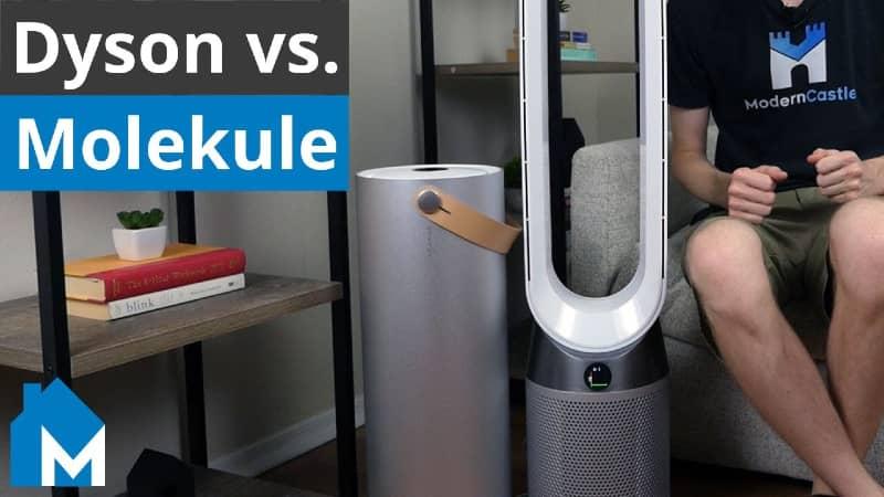 dyson air purifier vs molekule