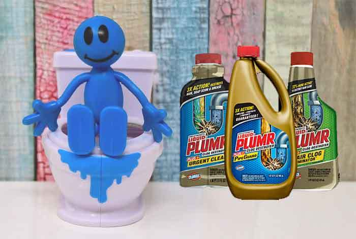 what happens if you leave liquid plumber in too long