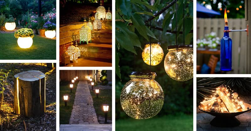 Outdoor lightning for your backyard